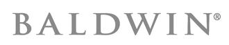 Orange County, Coastal Locksmith, Baldwin Hardware logo